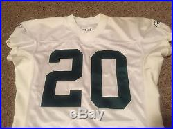 2001 Allen Rossum Green Bay Packers Game Used Issued Jersey COA Throwback