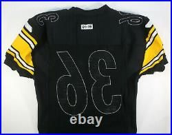 2001 Jerome Bettis Pittsburgh Steelers Game Issued Black Reebok Home Jersey