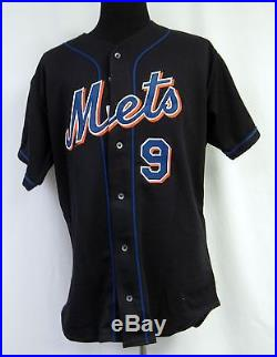 2001 New York Mets Todd Zeile #9 Game Issued Possible Game Used Jersey 5874