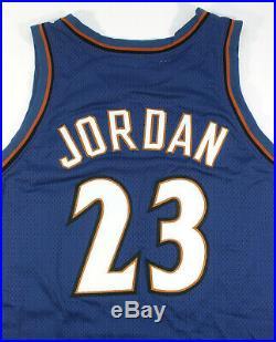 2002-03 Michael Jordan Washington Wizards Game Worn Issued Final Jersey Mears