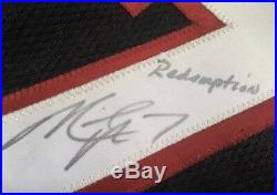 2002 Reebok NFL Atlanta Falcons Vick #7 Game Issued Jersey Signed & Inscribed