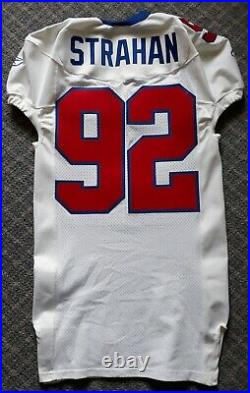 2003 New York Giants Michael Strahan game issued jersey, rare