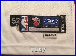 2005 Detroit Pistons Chauncey Billups Game Worn Jersey 52+2 issued used pro cut