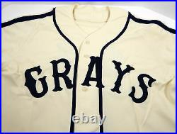 2006-13 Pittsburgh Pirates #24 Game Issued Cream Jersey Homestead Grays TBC 976