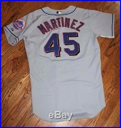 2006 Pedro Martinez Game Used Jersey Issued Worn Mets HOF Perfect Example