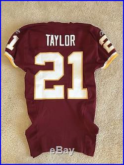 2006 Sean Taylor Washington Redskins Game Team Issued Red Jersey