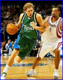 2007-08 Dirk Nowitzki Games Issued/worn & Signed Dallas Mavs Jersey (mavs Loa)