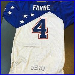 2007 Brett Favre Authentic Wilson Game Issued On Field Pro Bowl Jersey