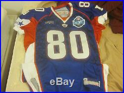 2007 NFL Football Pro Bowl Jerome Shockey #80 Game Issued Jersey