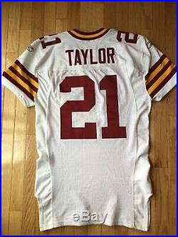 2007 Washington Redskins 75th Anniversary Sean Taylor Game Issued Jersey Size 48