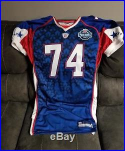 2008 Aaron Kampman Green Bay Packers Game Issued Pro Bowl Football Jersey Iowa