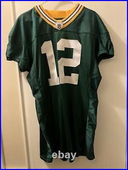 2008 Aaron Rodgers Game Jersey 52 Green Bay Packers Practice Issued NFL