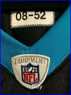 2008 Deangelo Williams Game Issued Carolina Panthers NFL Jersey Autographed PSA