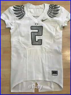 2009 Nike Oregon Ducks TJ Ward Game Player Issued Jersey Autographed Signed