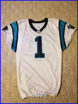 8366d3a1 2011 Carolina Panthers Game Issued Cam Newton Rookie Jersey un Used ...