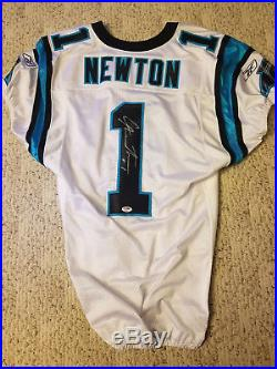 2011 Carolina Panthers Game Issued Cam Newton Rookie Jersey un Used Un Worn