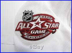 2011 NHL All Star Game White Team Issued Reebok Edge 2.0 7287 Jersey Size 58