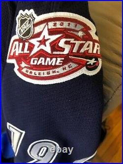2011 TOEWS #19 NHL All Star Game TEAM ISSUED Authentic Jersey 58 NWT EDGE 7187