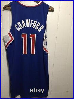 2012 Adidas NBA Game Issued Worn Los Angeles Clippers Jamal Crawford 11 Jersey