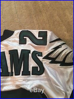 2012 Cary Williams Game Used Worn Issued Jersey Seahawks Ravens