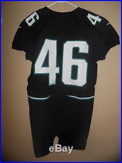 2012 Game Issued Jacksonville Jaguars Nike Football Jersey Used Worn