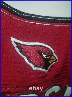 2012 NFL Game Issued Nike Arizona Cardinals Tim Fugger Jersey Size 44