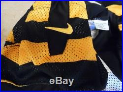 2012 Pittsburgh Steelers Game Issued Steelers Bumble Bee Jersey Ike Taylor