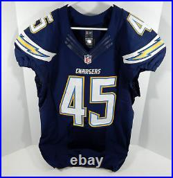 2012 San Diego Chargers Donald Butler #45 Game Issued Navy Jersey