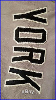 2013 New York Yankees Mariano Rivera Game Issued Away Jersey Steiner LOA