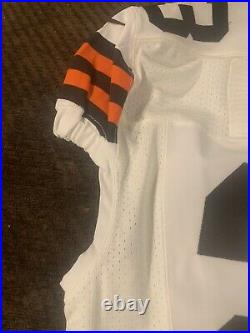 2013 Nike Cleveland Browns #23 Joe Haden Team Issued Game Jersey Signed Gators
