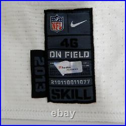 2013 San Diego Chargers David Johnson #88 Game Issued White Jersey