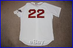2014 Boston Red Sox Doubront Team Issued Game Jersey, World Series Champions