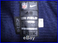 2014 Dominique Easley Game Used Worn Issued NE Patriots NFL Jersey Florida