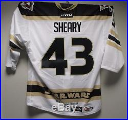 2015-16 Wilkes-Barre/Scranton Penguins Game-Issued Star Wars Jersey #43 Sheary