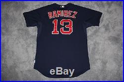 2015 Boston Red Sox Hanley Ramirez Team Issued Worn Game Jersey, MLB Auth