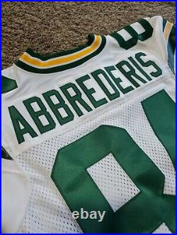 2015 Jared Abbrederis Nike Skill Green Bay Packers Team Issued Game Jersey 44