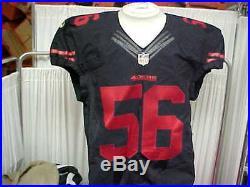 promo code 084ec d0a2d 2015 NFL San Francisco 49ers Game Worn/Team Issued Color ...