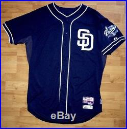 2015 Non Game Used Team Issued MATT KEMP Padres Jersey MLB Authenticated #27