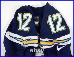 2015 San Diego Chargers Jacoby Jones #12 Game Issued Navy Jersey