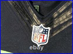 2015 Vtg Seattle Seahawks Marshawn Lynch Team Issued Game Cut Football Jersey