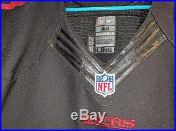 2016 49ERS Authentic Nike Pro Cut Game Issued NaVorro Bowman ALT jersey