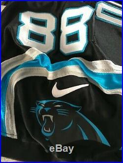 2016 Carolina Panthers Greg Olsen Issued Game Jersey Not Used/ Worn Signed HOF
