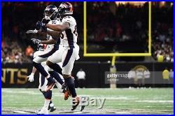 2016 Denver Broncos Emmanuel Sanders Nike Game Issued Jersey COA