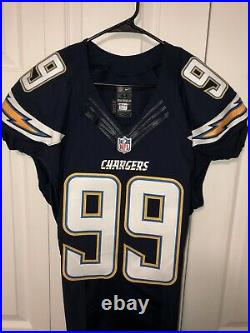 2016 Game Issued Joey Bosa LA Chargers Authentic Nike On Filed Jersey