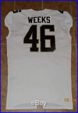 2016 PRO BOWL, 46JON WEEKS, NIKE PSA/DNA, Game Issued Not Game Used, MINT