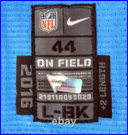 2016 San Diego Chargers Ryan Carrethers #92 Game Issued Light Powder Blue