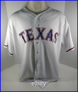 2016 Texas Rangers Prince Fielder #84 Game Issued White Jersey