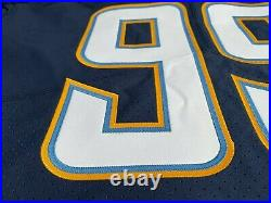 2017 Los Angeles LA Chargers Joey Bosa Team Player Game Issued Jersey Authentic