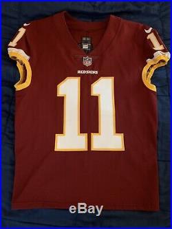 2017 Terrelle Pryor Sr Washington Redskins Game Worn Used Issued Jersey