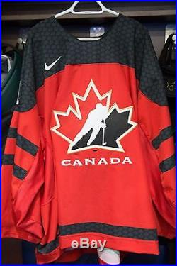 2017 World Juniors GAME-ISSUED Hockey Jersey Connor Ingram